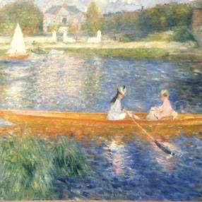 The Skiff - Renoir